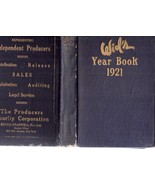 Wid's Year Book 1921-1922 Film Year Book Silent... - $199.00