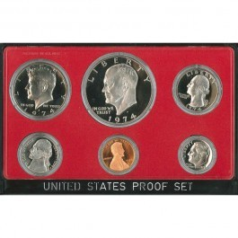 Authentic 1974 US Proof Set - CP3018