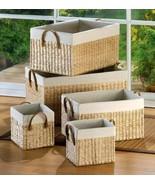 5 Large Nesting Baskets - €54,56 EUR