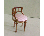 Buy Furniture - 1:12 scale dollhouse miniature furniture vanity round chair