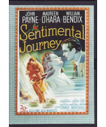 Sentimental Journey dvd John Payne Maureen O'Hara