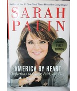 Sarah Palin America By Heart autograph signed book - $55.95