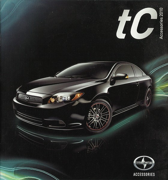 2010 scion tc parts accessories brochure catalog toyota. Black Bedroom Furniture Sets. Home Design Ideas