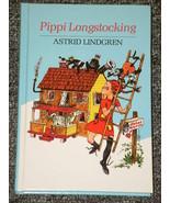 Pippi Longstocking by Astrid Lindgren HB - $2.00