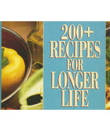 200+ Recipes For Longer Life, Temptingly Delici... - $6.99