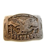 Vintage 1876 - 1976 Colorado Centennial Belt Bu... - $14.99