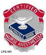 Certified Nurse Anesthetist Medical Emblem Cere... - $10.97