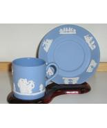 Vintage Wedgwood Jasperware Cup & Saucer - 1950... - $20.00