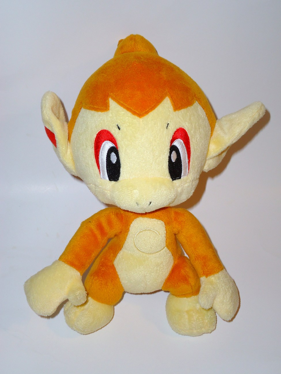 Pokemon Talking Chimchar Orange Fire Monkey Plush Stuffed Animal Jakks Pacific