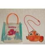 Disney Pixar Finding Nemo Plush Purse And Vinyl Tote - $9.99