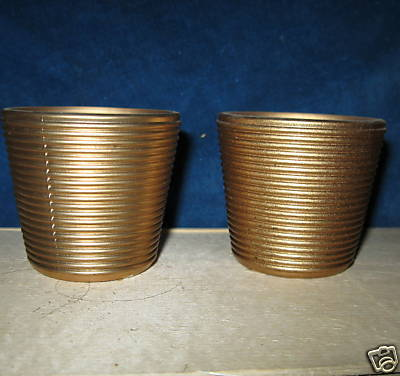 "* Candle Holder color Antique Gold 2.5""  tea light tealight"