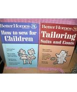 * Sew for Children Better Homes how to book HC - $8.65