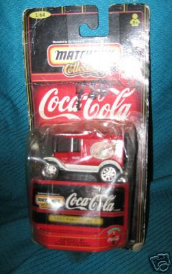 * Coca Cola Matchbox Truck ford 1921 die cast match