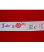 Sizzix Sizzlits Phrases Thank You - $17.99