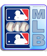 NEW MLB MAJOR LEAGUE BASEBALL SINGLE LIGHT SWITCH PLATE