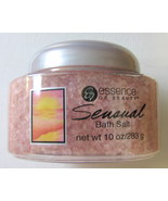 Essence of Beauty Sensual Bath Salt 10oz. Pink ... - $2.50