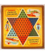 Shanghai Chinese Checkers 2-Sided Board Game Halsam - $18.99
