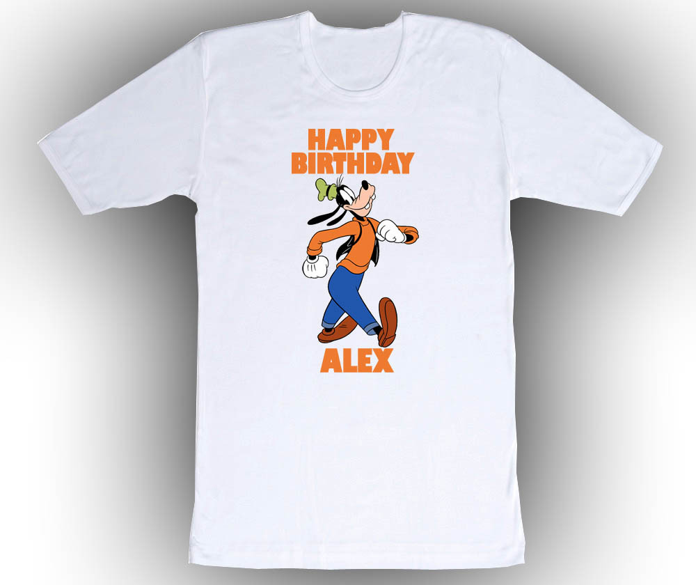 Personalized custom goofy birthday t shirt gift t shirts for How to make money selling custom t shirts