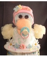 Pink Blue Yellow DUCK Baby Shower Diaper Cake T... - $28.00