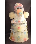 Yellow Pink & Blue DUCK Baby Shower Gift Diaper... - $48.00