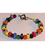 Crayon-Colored Beaded Bracelet - $9.00
