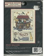 Counted Cross Stitch Kit Noahs Ark Welcome Frie... - $9.93