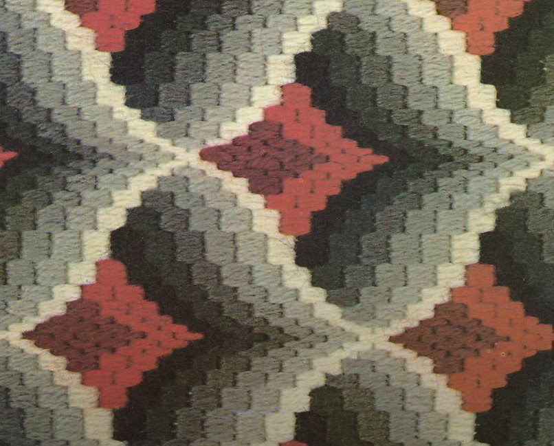 Needlpoint Book, Bargello Magic: How to design your own
