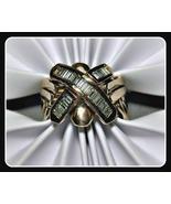 Puzzle Ring Diamond 14K Gold 1.25 carats 16 gra... - $1,100.00