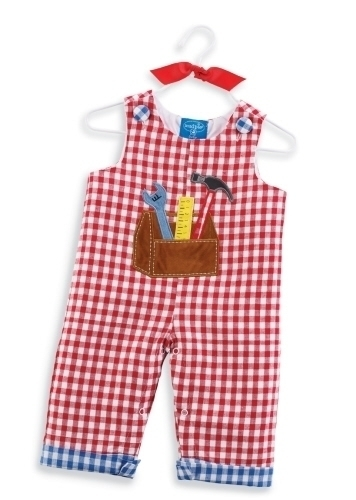 Mud Pie Boy's Tool Box Longall SZ 6M-18M