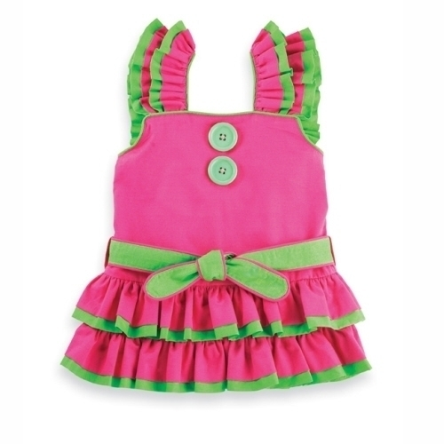 Mud Pie Girls Rumba Dress SZ 12M-3T