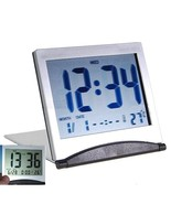 Digital Flip up Travel Alarm Clock with Calend... - $4.99