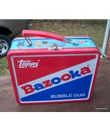 Vintage Topps Bazooka Bubble Gum Lunch Box Tin ... - $45.00