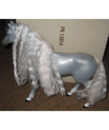 * Barbie Gray Horse w/ White Crimped Hair - $5.00