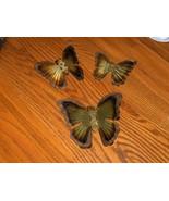 Homco Brass Butterflies - $7.99