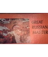 Great Russian Masterpieces 5 Vinyl Records Vox 33 1/3