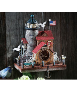 Cape Cod Wall Mounted Resin Birdhouse - $21.95