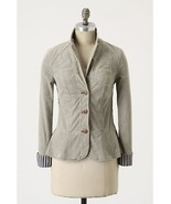 NWT Anthropologie Trusty Friend Blazer Moss 4/S... - $49.99