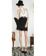 NWT Alice Olivia High Neck Dress With Belt Blac... - $179.99