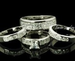 Buy Matching Sets - HIS HER 4pc Matching Engagement Wedding Ring Set sz 6.5