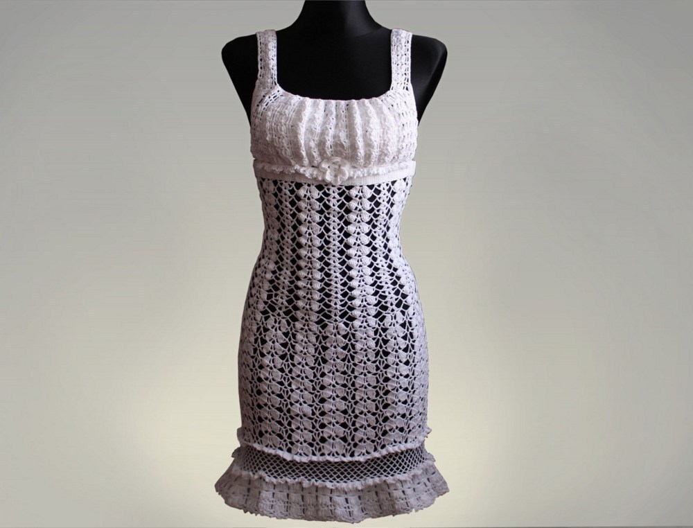 How To Crochet Dress Free Patterns : CROCHET DRESSES PATTERN Crochet Patterns