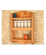 Spice Rack - Wall Shelf - Kitchen Storage - Wit... - $37.95