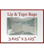 200 Cello Cellophane 3.625 x 5.125 inch Lip and... - $6.98