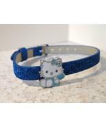 BRACELET CHILDS CHILDS HELLO KITTY BLUE SPARKLE... - $7.99