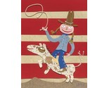 Buy Posters - COWGIRL Print WATERCOLOR Picture Art Poster Western