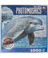 Photomosaic Dolphin Picture Puzzle With Poster ... - $14.99
