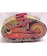 Marx  U.S. Army Tank #3 Windup Wind Up Toy Vintage - $299.95