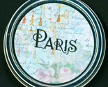 Buy Gifts and Collectibles - Paris and Pink Roses 1 oz Tin Gift Trinket Box w Organza Bag