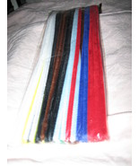 * Chenille pipe cleaners 12