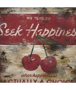 Seek Happiness Rodney White Paper Print  - $21.00
