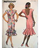 Butterick 5651 Vintage 80s Unused Womans14 to 1... - $8.95
